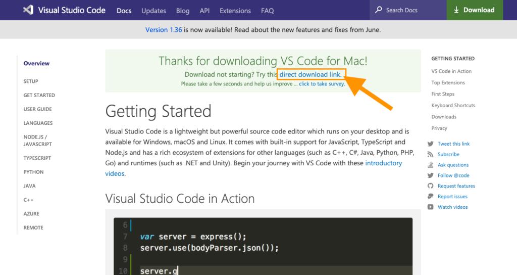 VSCodeのインストール手順